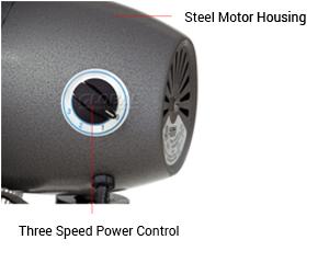steel-motor-housing