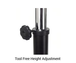 tool-free-height-adjustment