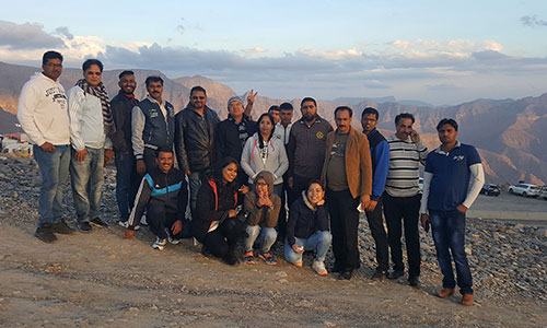 trip to jabal jais