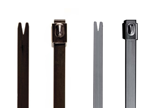 Steel cable Tie Coated